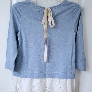 Lace-Bottomed Tunic